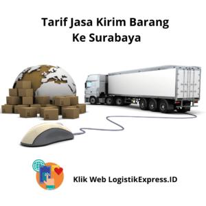 Tarif Jasa Pengiriman Ke Surabaya