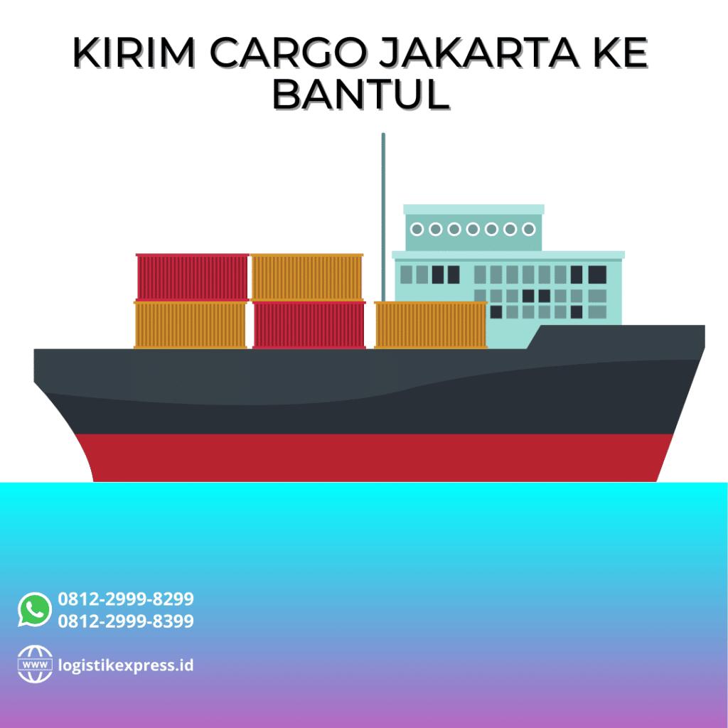 Kirim Cargo Jakarta Ke Bantul