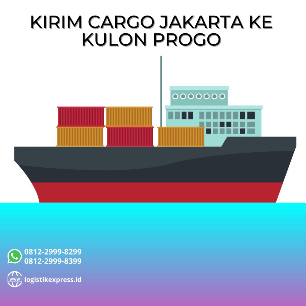 Kirim Cargo Jakarta Ke Kulon Progo