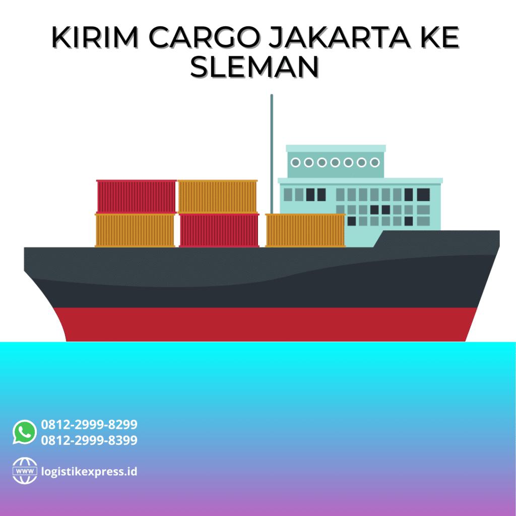 Kirim Cargo Jakarta Ke Sleman