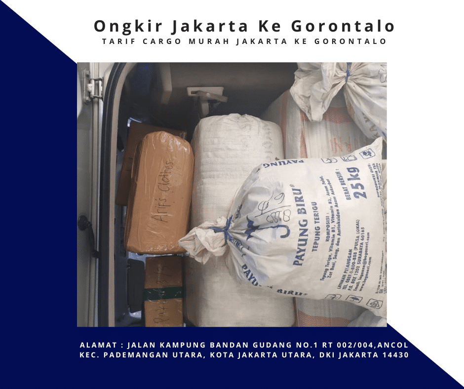 Ongkir Jakarta Ke Gorontalo