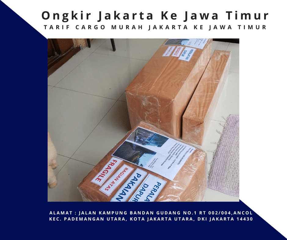 Ongkir Jakarta Ke Jawa Timur