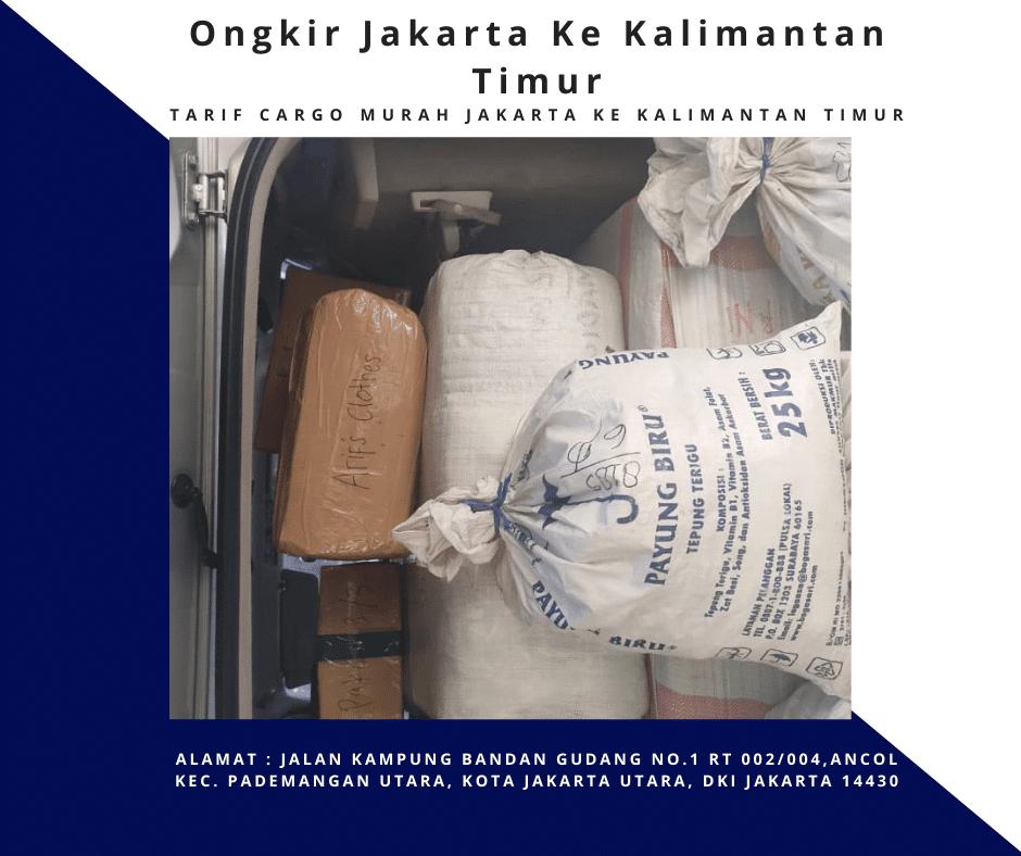 Ongkir Jakarta Ke Kalimantan Timur