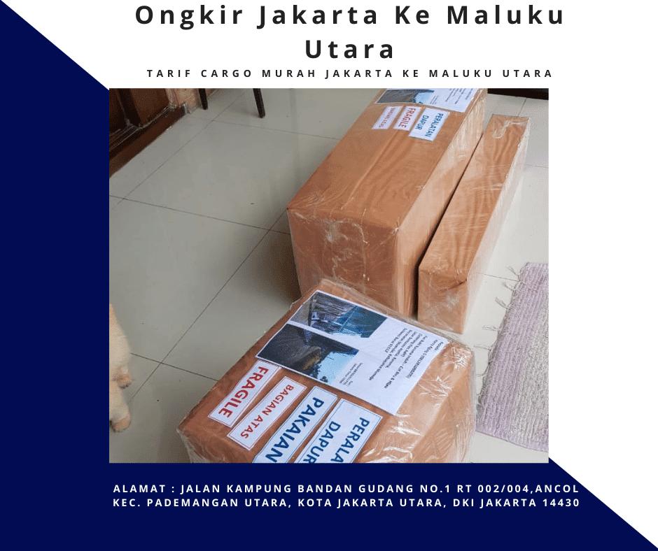 Ongkir Jakarta Ke Maluku Utara