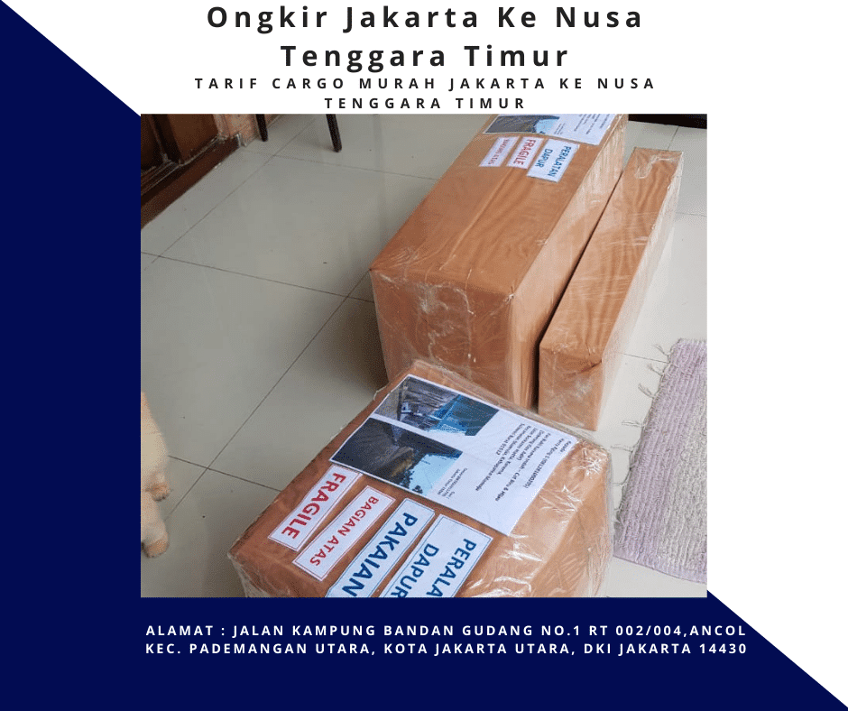 Ongkir Jakarta Ke Nusa Tenggara Timur