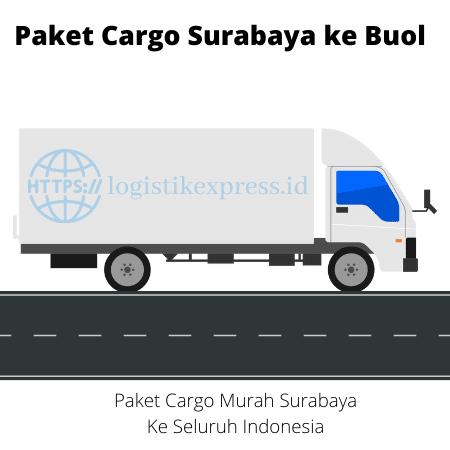 Paket Cargo Surabaya ke Buol