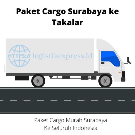 Paket Cargo Surabaya ke Takalar