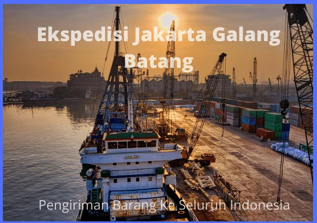 Ekspedisi Jakarta Galang Batang