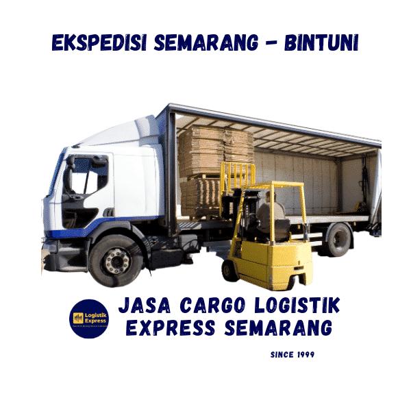 Ekspedisi Semarang Bintuni