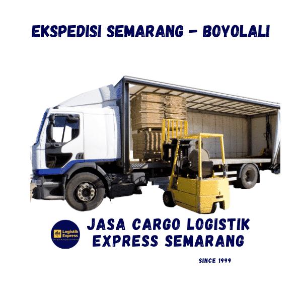 Ekspedisi Semarang Boyolali