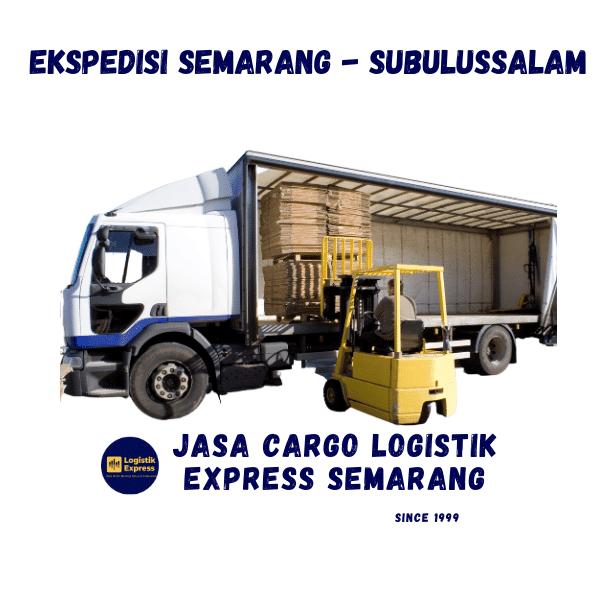 Ekspedisi Semarang Subulussalam