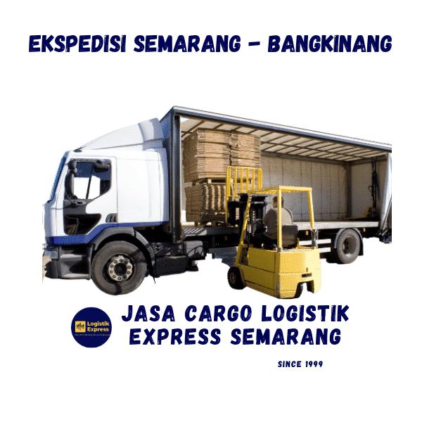 Ekspedisi Semarang Bangkinang