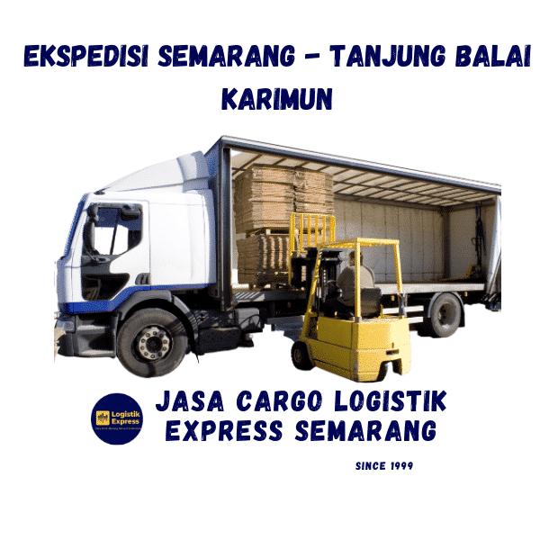 Ekspedisi Semarang Tanjung Balai Karimun