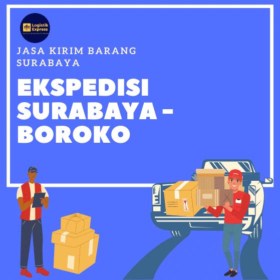 Ekspedisi Surabaya Boroko