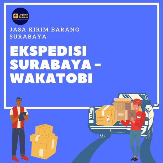 Ekspedisi Surabaya Wakatobi