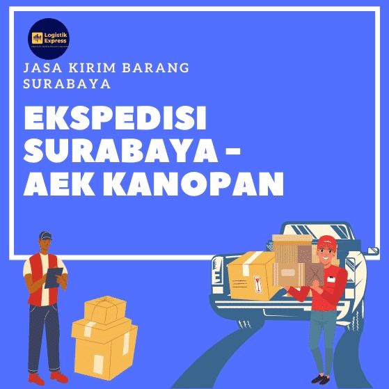 Ekspedisi Surabaya Aek Kanopan