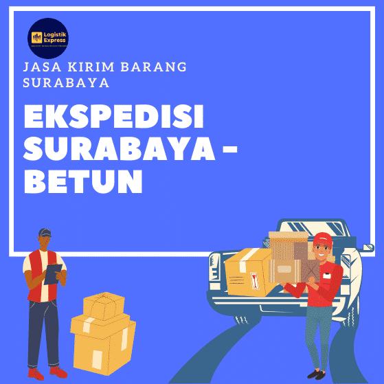 Ekspedisi Surabaya Betun