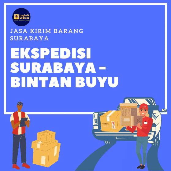 Ekspedisi Surabaya Bintan Buyu