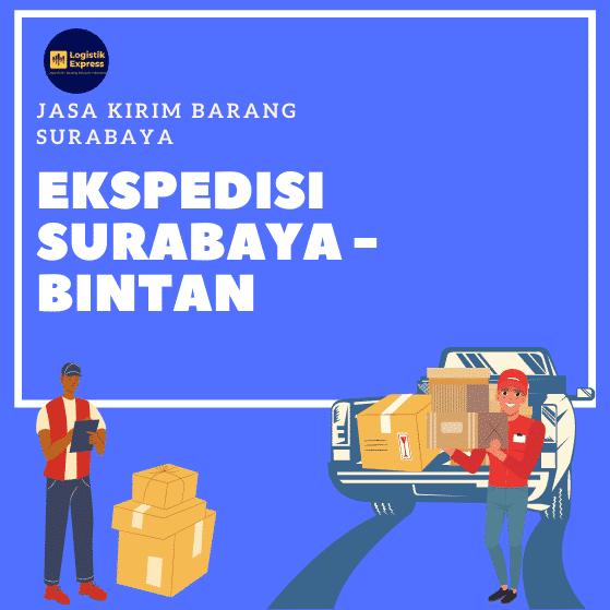Ekspedisi Surabaya Bintan