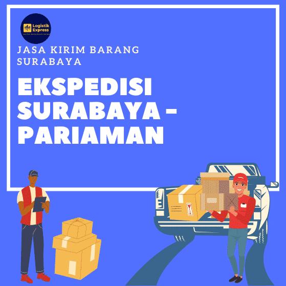 Ekspedisi Surabaya Pariaman