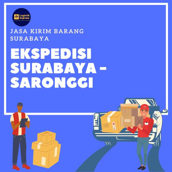 Ekspedisi Surabaya Saronggi