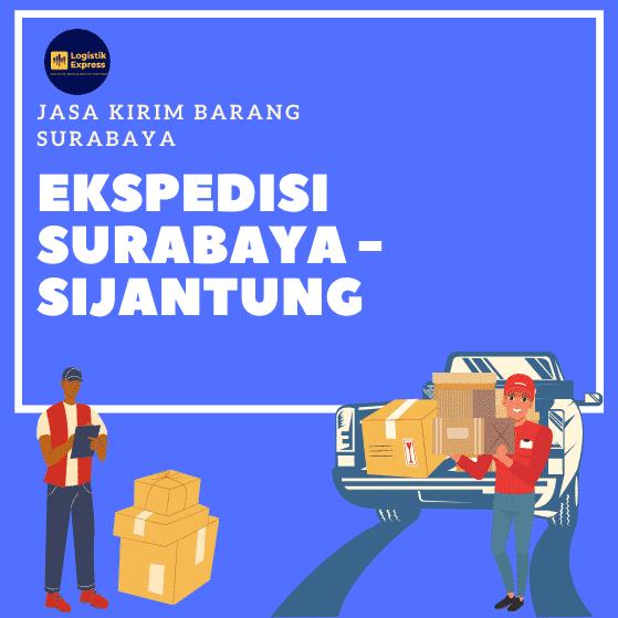 Ekspedisi Surabaya Sijantung