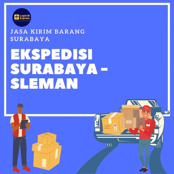 Ekspedisi Surabaya Sleman