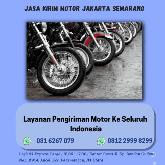 Jasa Kirim Motor Jakarta Semarang