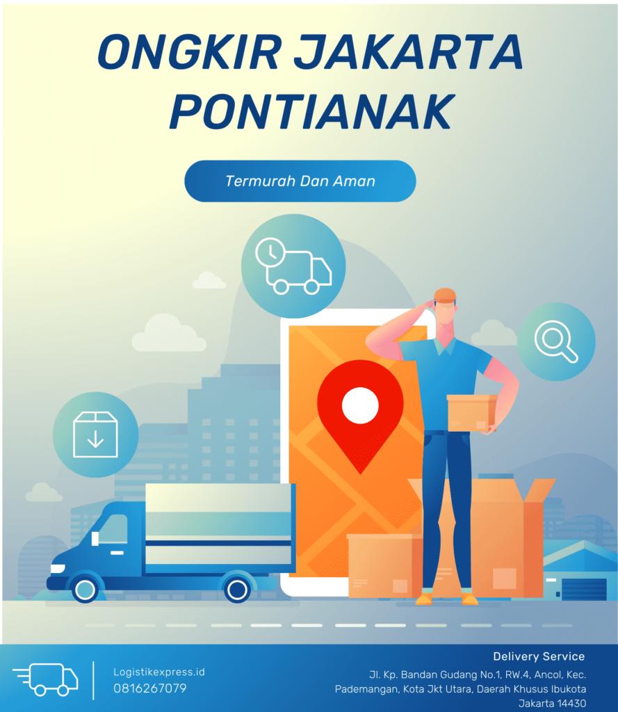 Ongkir Jakarta Pontianak