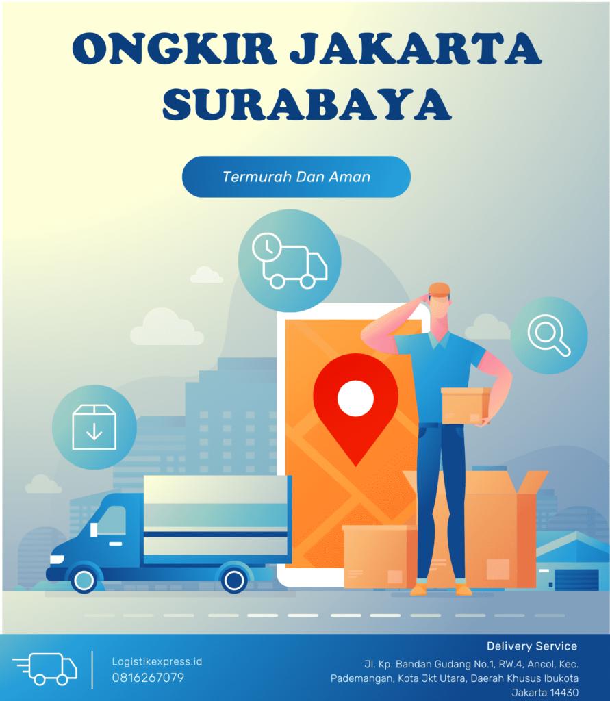 Ongkir Jakarta Surabaya