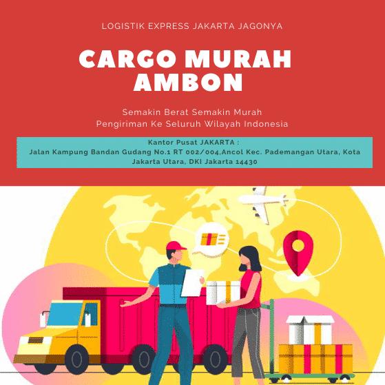 Cargo Murah Ambon