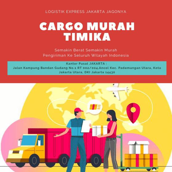 Cargo Murah Timika