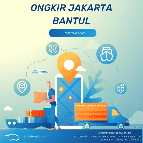 Ongkir Jakarta Bantul