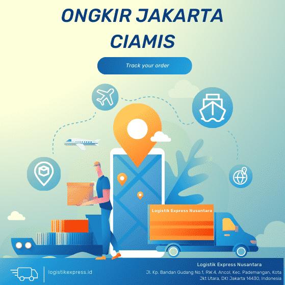 Ongkir Jakarta Ciamis