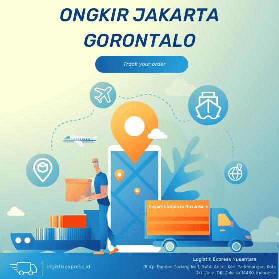 Ongkir Jakarta Gorontalo