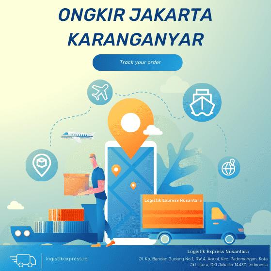 Ongkir Jakarta Karanganyar