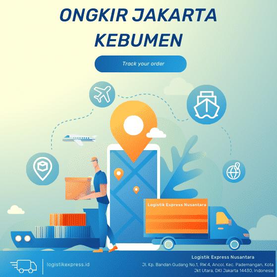 Ongkir Jakarta Kebumen