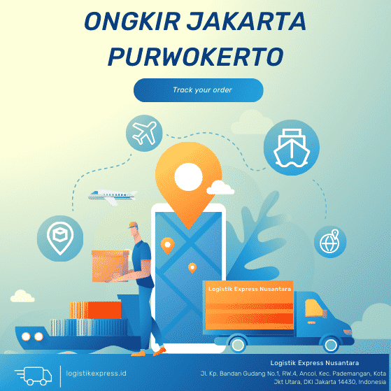 Ongkir Jakarta Purwokerto
