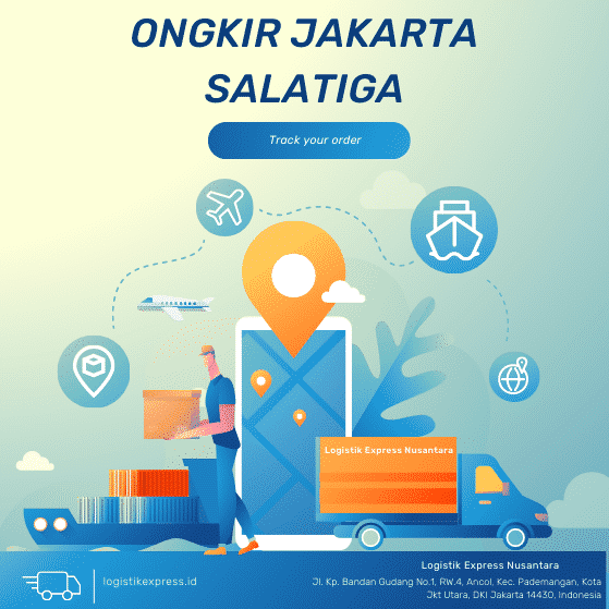 Ongkir Jakarta Salatiga