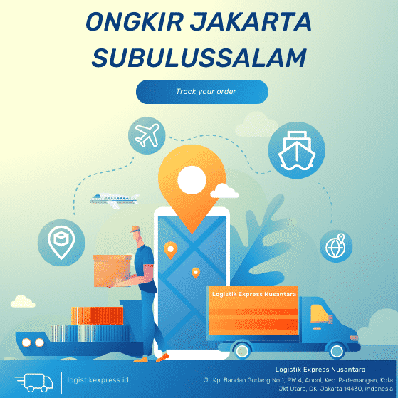 Ongkir Jakarta Subulussalam