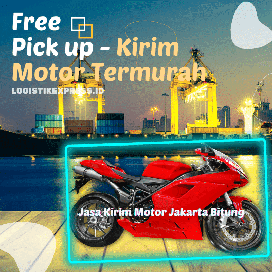 Jasa Kirim Motor Jakarta Bitung