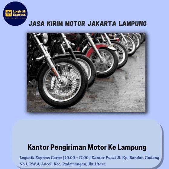 Jasa Kirim Motor Jakarta Lampung